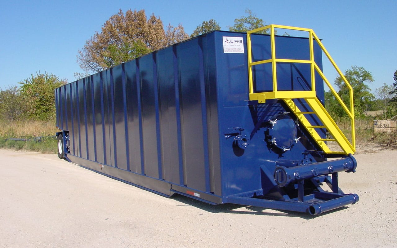 Portable Steel Tanks and Containment Systems for Chemical and Water Applications